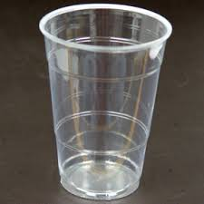 Plastic Cups 500ml Clear 50 pieces/pack