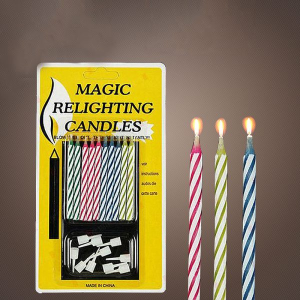 Magic Relighting Candles PS Party Shop